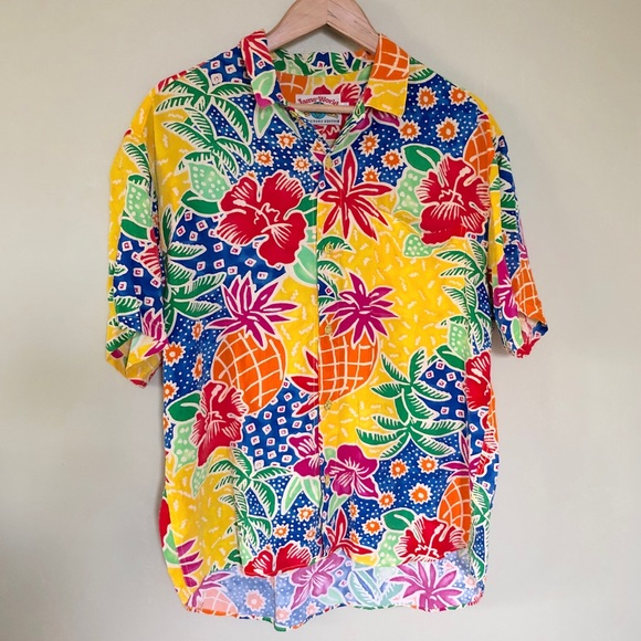 db73838b47a74f Jams World Shirts | 30th Collectors Hawaiian Button Up | Poshmark